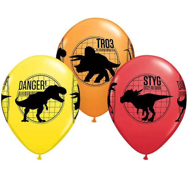 Lufi, Jurassic World, színes, 5 db/cs