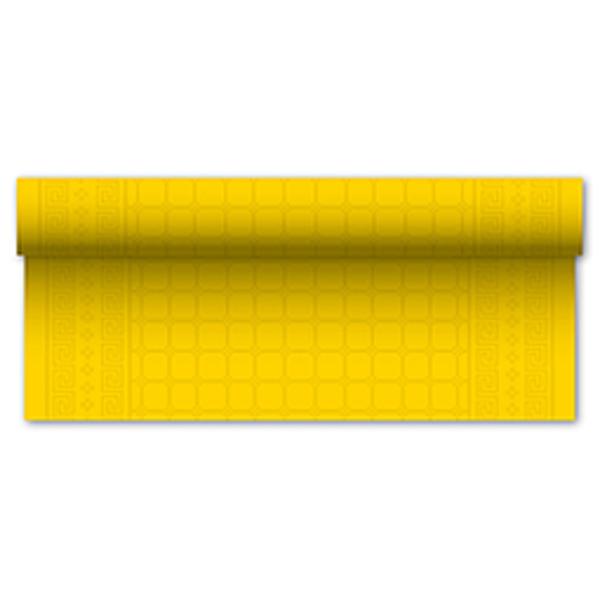 Asztalterítő,  papír , citromsárga , 7mx1,2m
