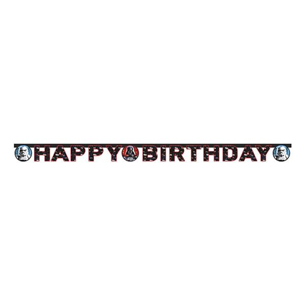 Star Wars, happy Birthday fűzér