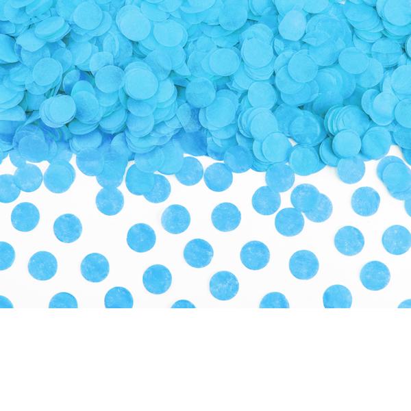 Konfetti 15 g, kék