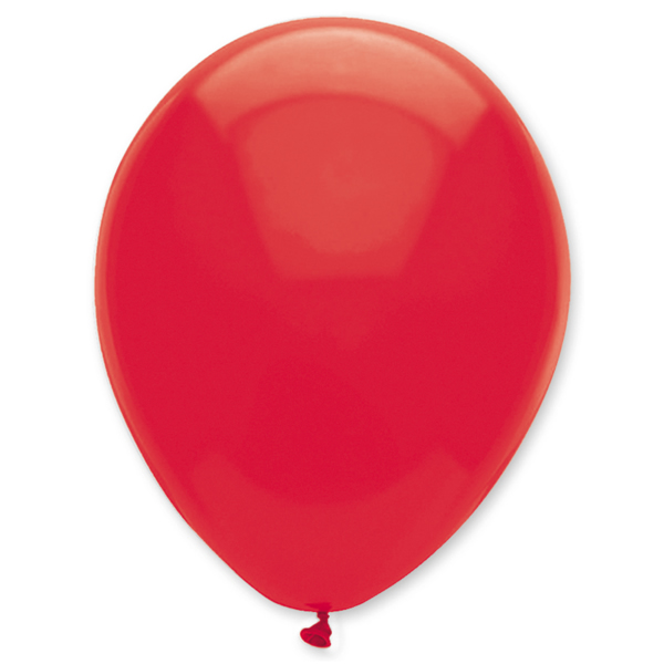 Gömb lufi d30 100 db,  piros