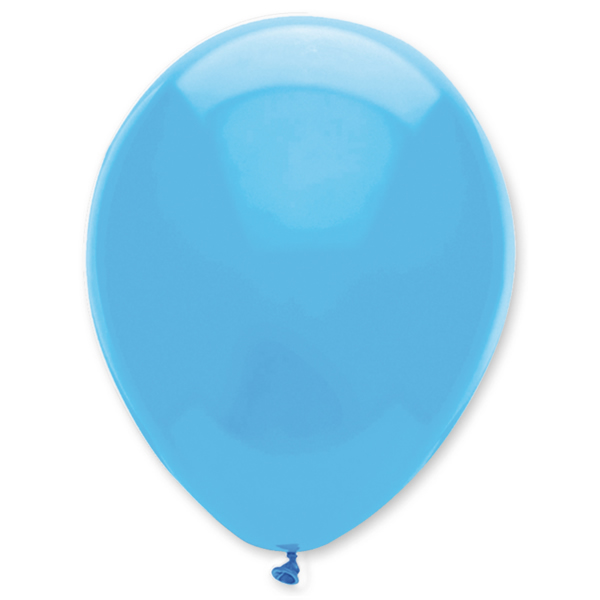 Gömb lufi d30 100 db,  ég kék (világos kék)