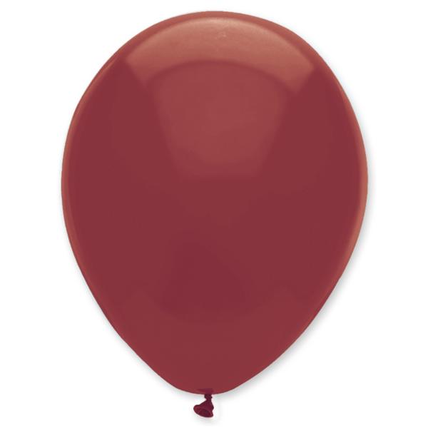 Gömb lufi d30 100 db, Burgundi