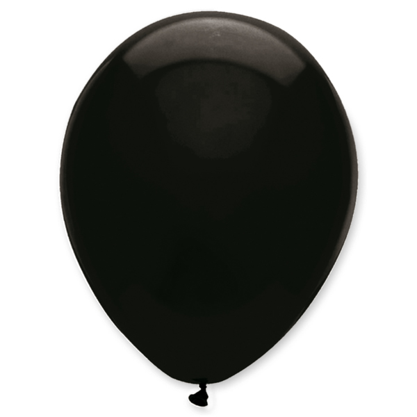 Gömb lufi d30 100 db, Fekete (122)