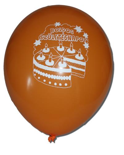 Lufi, Boldog születésnapot felirattal 100 db/cs