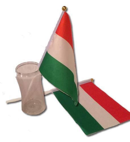 Magyar zászló 20*14,5 cm