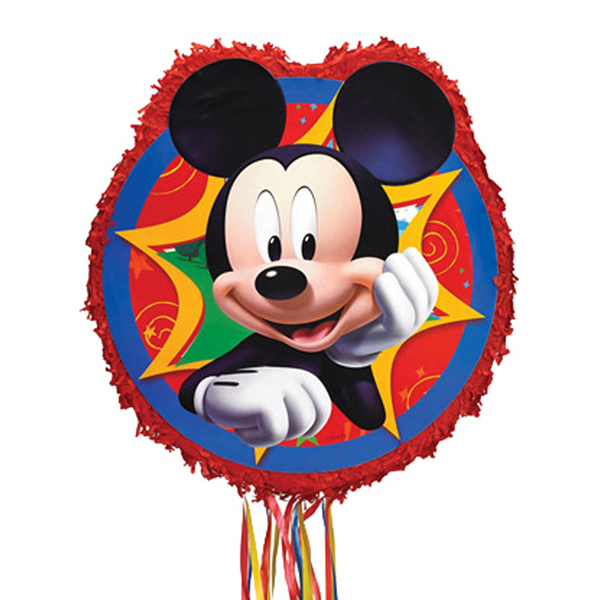 Pináta, Mickey, 46 cm
