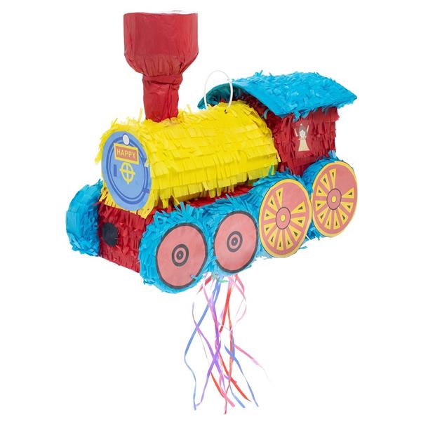Pináta, vonat, 42x19.5x35 cm