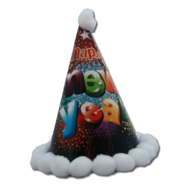 Happy new year bogyós kalap