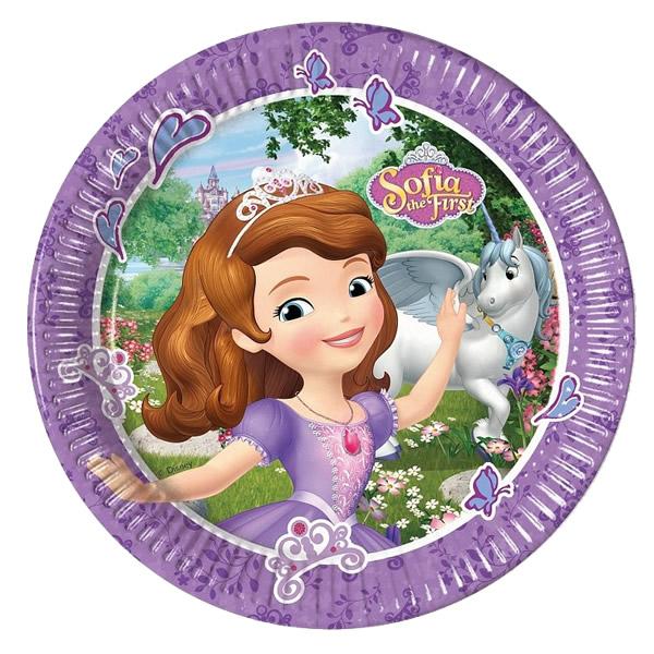 Sofia, tányér 23 cm, 8 db/cs